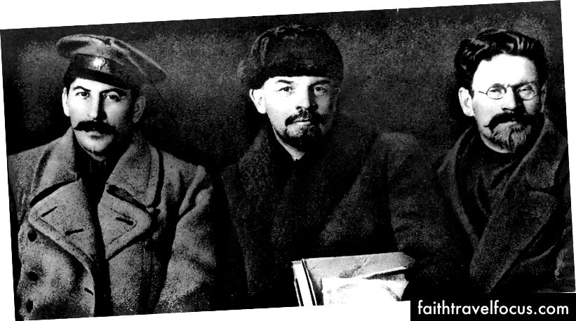 Stalin, Lenin ve Kalinin, 1919 | © E rulez / WikiCommons