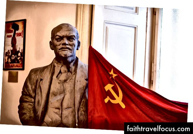 Lenin không bao giờ là quá xa trong những ngày Cộng sản | © Đánh dấu Surman / Flickr