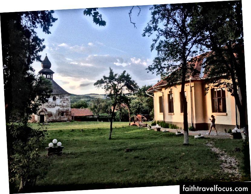 Một cái nhìn của trại ở Geoagiu, Romania. (Tháng 7 năm 2015)
