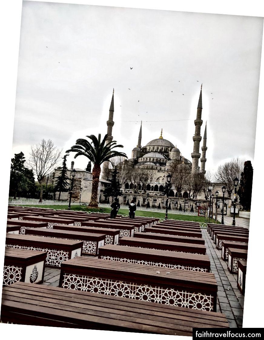 Nhà thờ Hồi giáo Xanh; Ga gần nhất: Sultanahmet