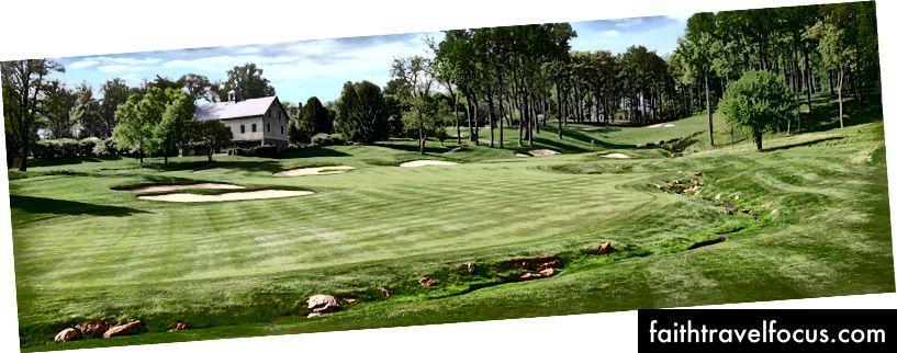 Câu lạc bộ Golf Cave Valley ở Owings Mills, MD. Một ca khúc Tom Fazio tuyệt vời nơi tôi đã yêu trò chơi này.