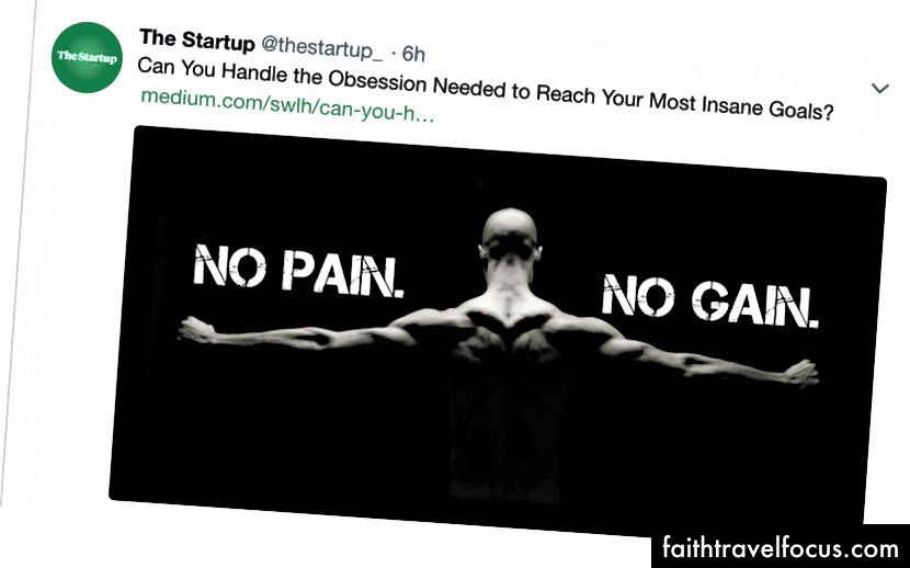 Перший твіт від The Startup