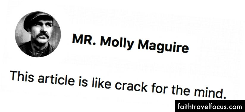 Nhận xét tuyệt vời của MR. Molly Maguire