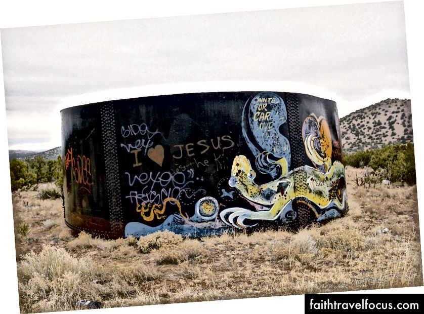 Graffiti, New Mexico, Hình ảnh phim, © V.Plut
