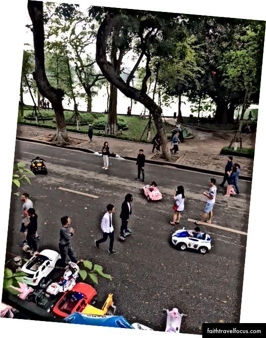 Đường phố Hà Nội.