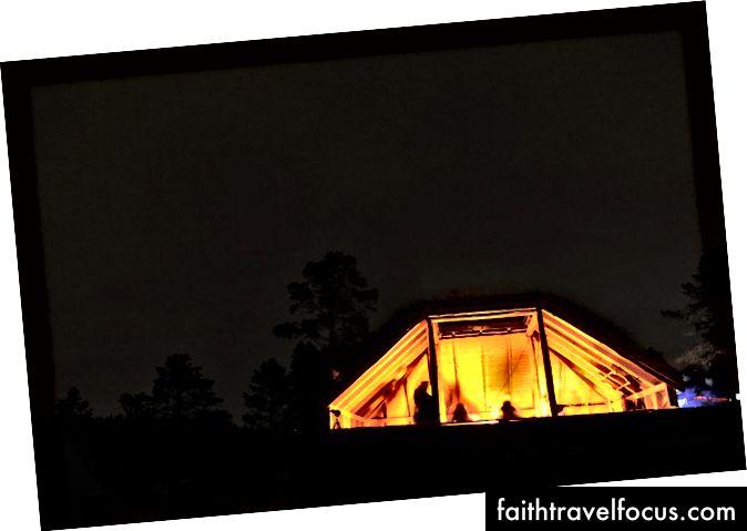 Nhiếp ảnh được thiết lập từ lều của chúng tôi.