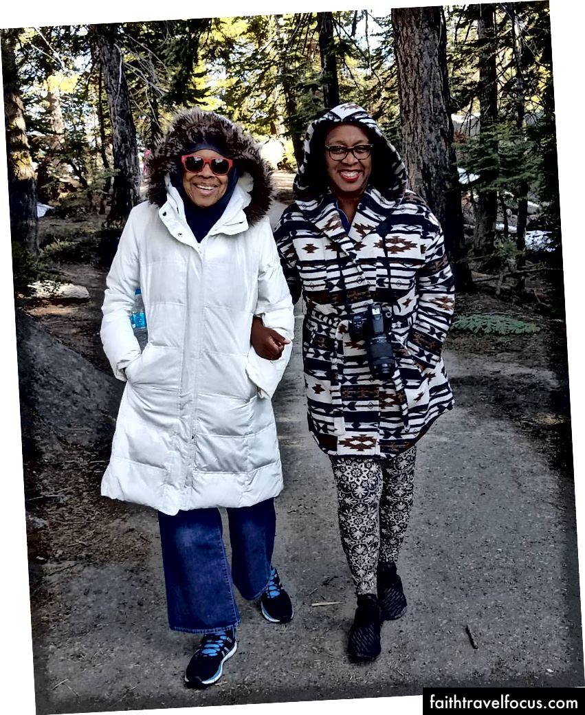 Mẹ và tôi ở Yosemite-2017
