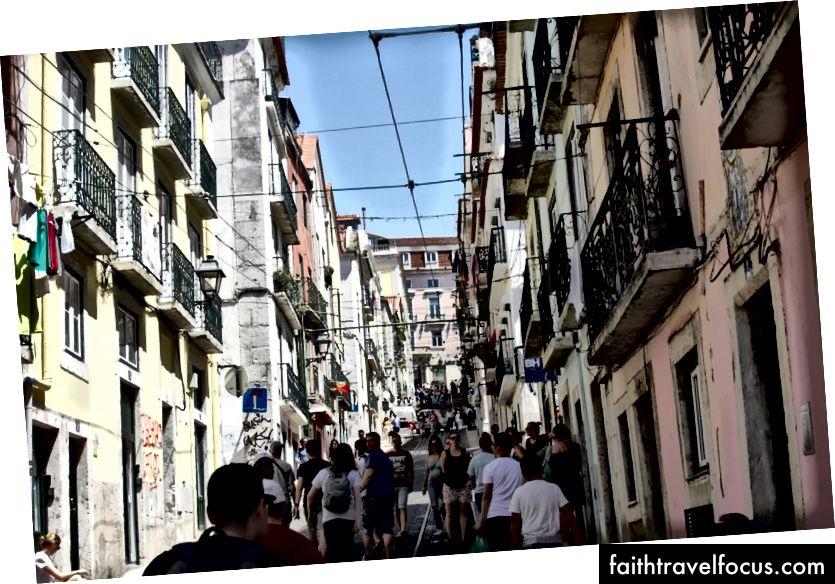 Các trận chiến khó khăn của Lisbon