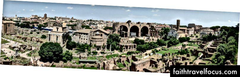 Diễn đàn La Mã, ảnh toàn cảnh từ Pixel 2