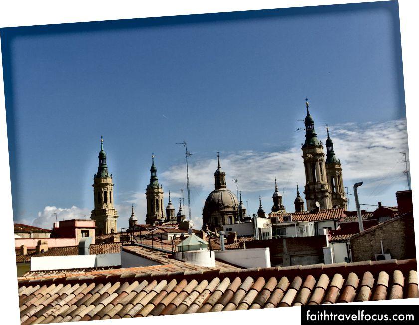 Вид на базиліку Сарагоси, Адам Крейг