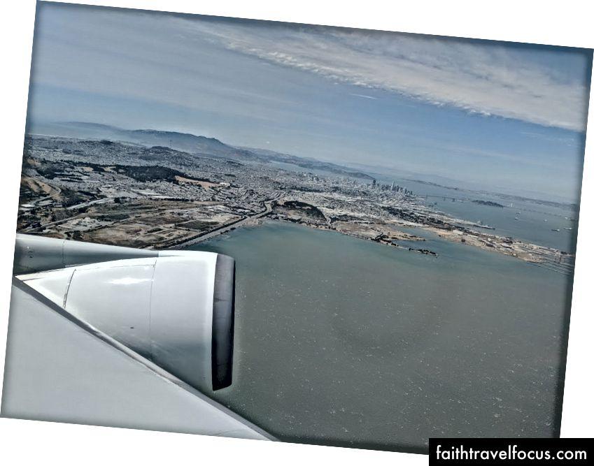 Сан-Франциско, як видно з літака