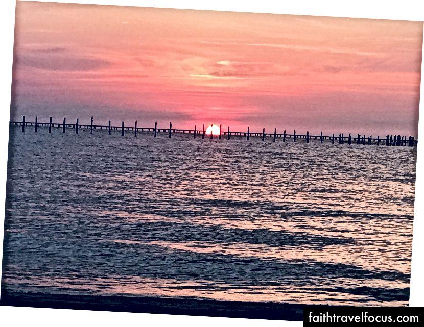#nofilter #sunset # đầu tiên. Đợi đã, đây là Instagram Instagram!