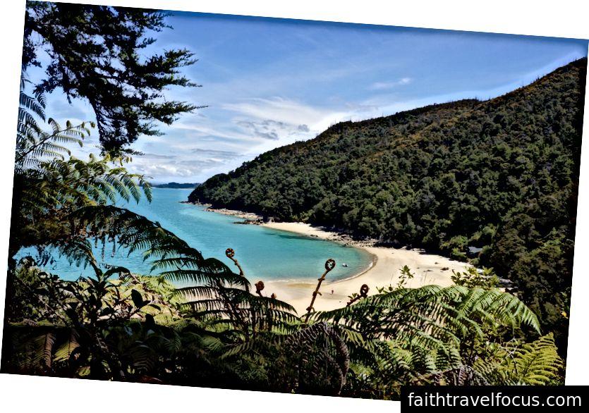 Yeni Zelanda'da Abel Tasman Ulusal Parkı