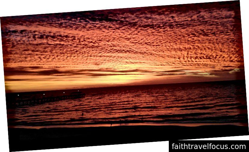 Ефектні захід сонця Південної Австралії (фото: Sarah Healy)