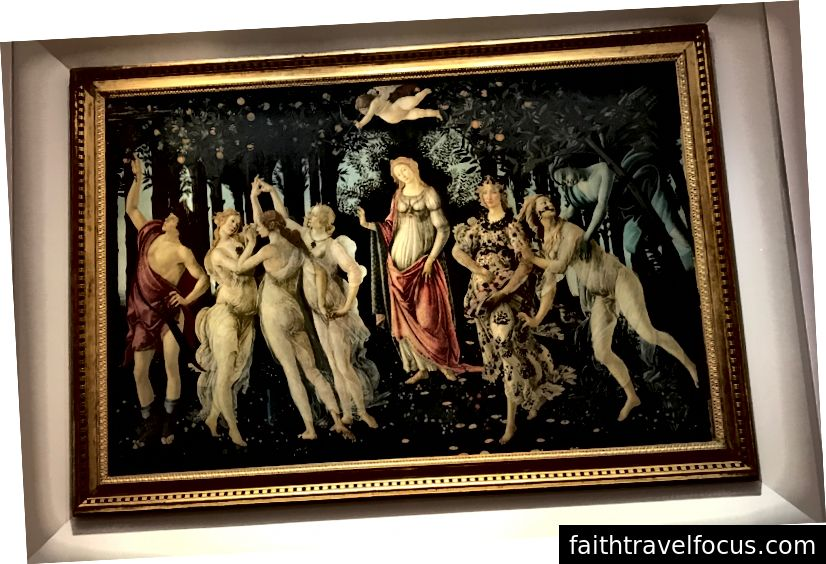 Sandro Botticelli ở làng Primavera. Ảnh: K. Yung