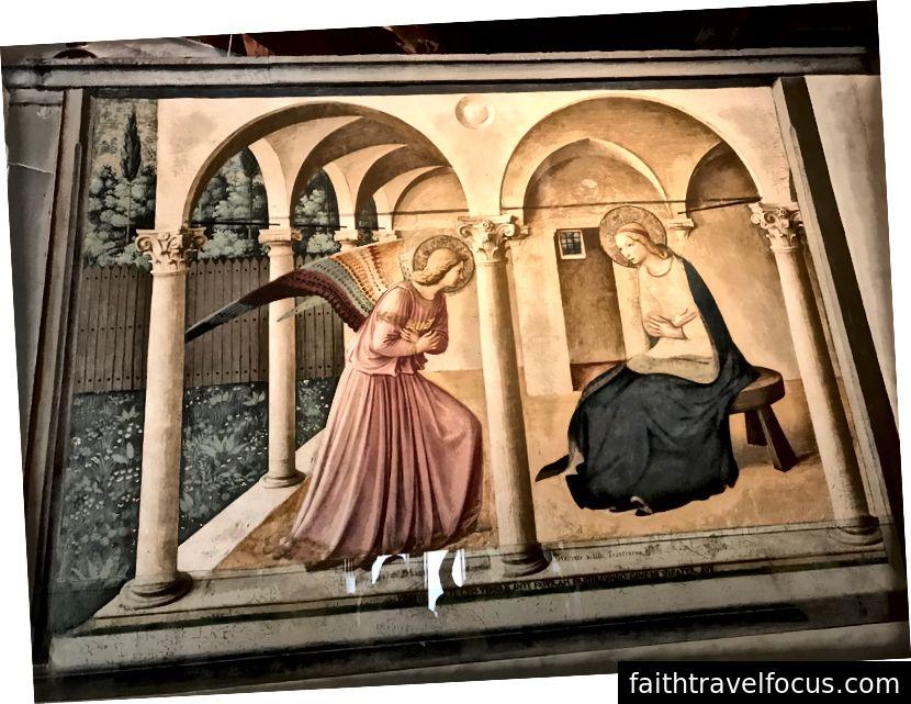 Thông báo tại Tu viện San Marco. | Ảnh: K. Yung