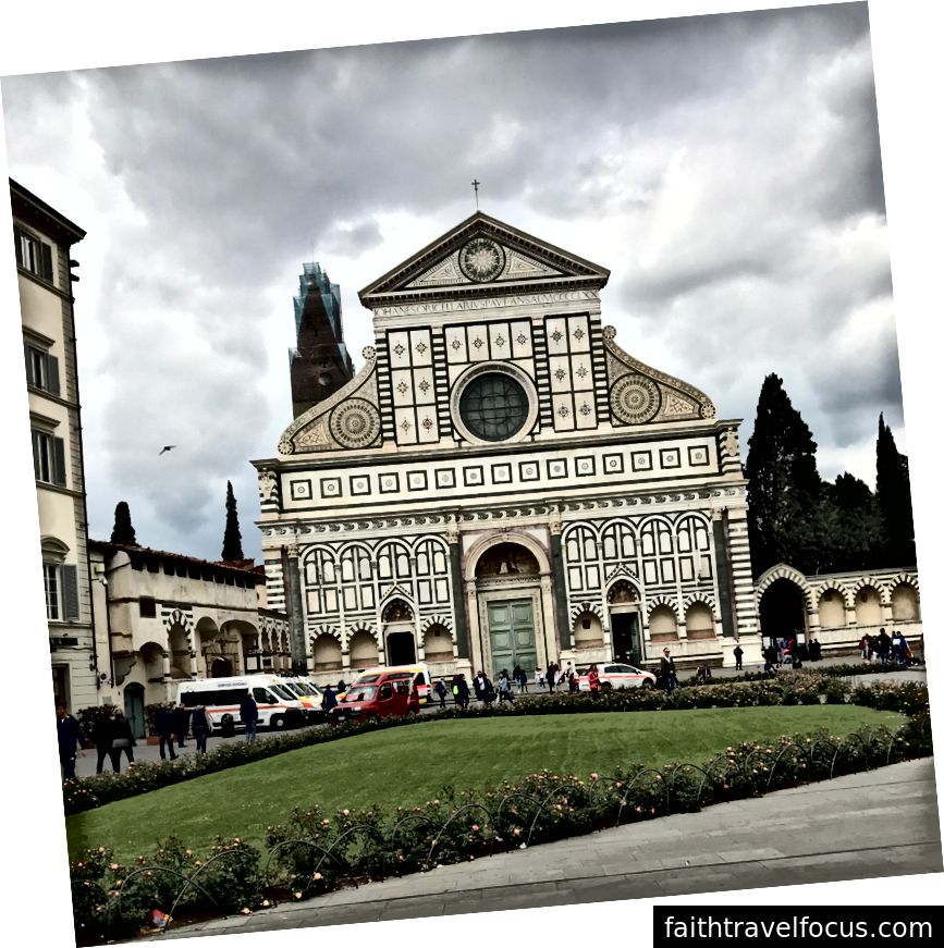 Nhà thờ Santa Maria Novella ở Florence. | Ảnh: K. Yung