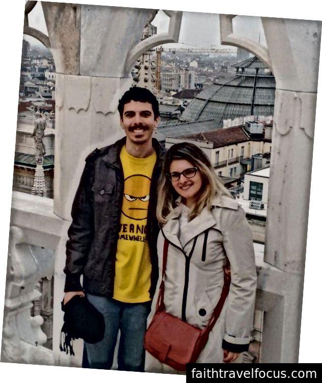 Thiago Pappacena chuyển từ Brazil đến Ý và cũng mang theo vợ. Một năm sau, ông được thăng chức lên vị trí CTO tại công ty mà ông tham gia. Ảnh tín dụng: Thiago Pappacena.