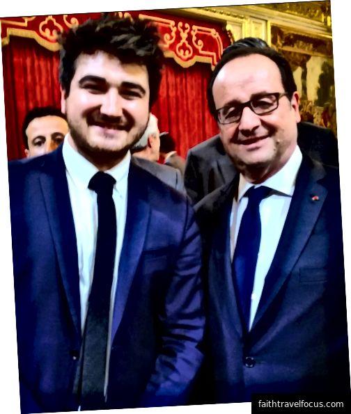 Arnaud Castaignet đã đưa ra lời khuyên PR cho cựu tổng thống Pháp François Hollande và khi ông rút khỏi vị trí ứng cử của mình từ cuộc bầu cử tiếp theo, Arnaud đã tìm thấy một thách thức chuyên nghiệp ở Estonia. Ảnh tín dụng: Arnaud Castaignet.