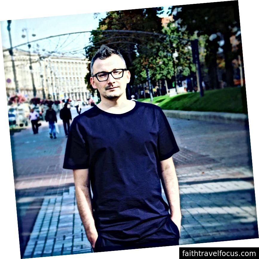 Nhà thiết kế UX người Ukraine Kirill Slavetski đã sống và làm việc ở nhiều quốc gia và không thể giới thiệu nó nhiều hơn nữa. Ảnh tín dụng: Kirill Slavetski.