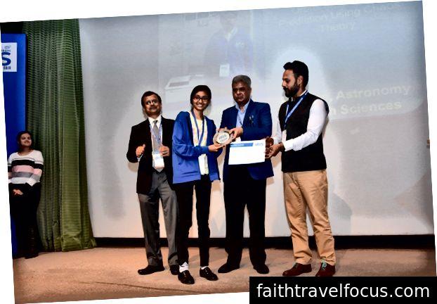 Tôi nhận được giải thưởng lớn (Ảnh lịch sự: Hội chợ khoa học quốc gia IRIS)