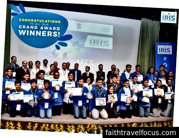 Đội Ấn Độ ISEF 2018 (Ảnh và Chỉnh sửa lịch sự: Hội chợ khoa học quốc gia IRIS)