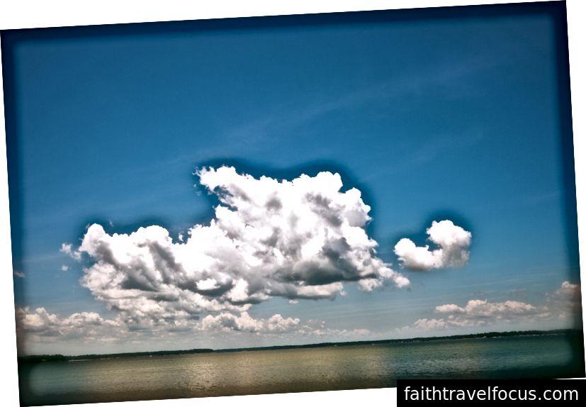 Хмара над річкою Піанкатанк, © V.Plut