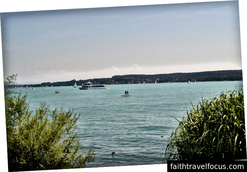 Süper Konstantz Gölü (Bodensee), Ravensburg'dan İsviçre'ye doğru yarım saat sürüyor. Mükemmel bir hafta sonu mekanı!