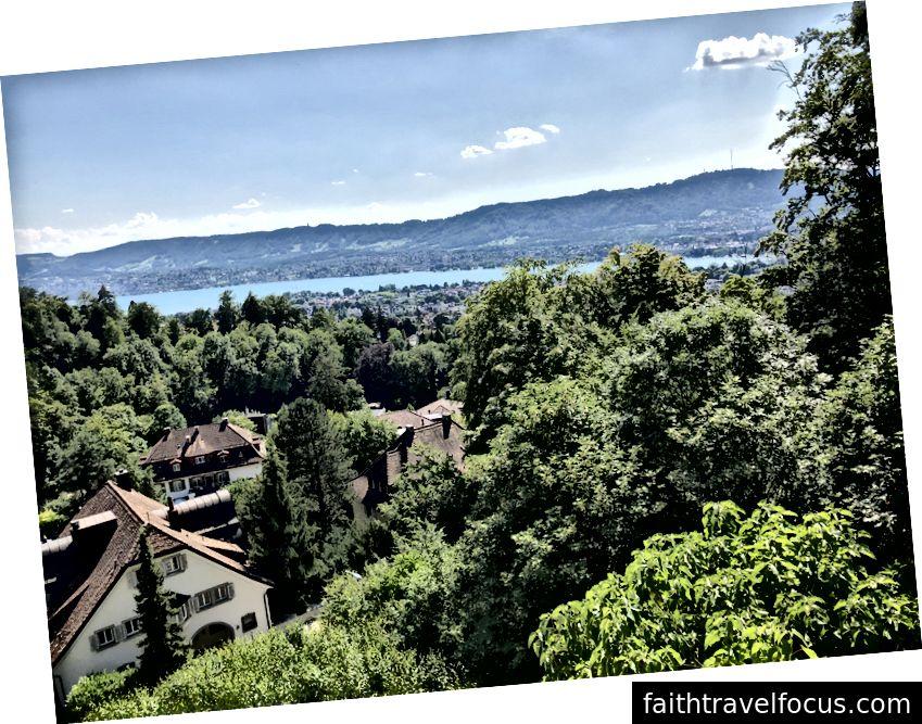 Zurich, Thụy Sĩ. Ảnh tôi chụp.