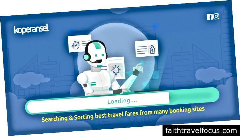 Công ty tìm kiếm du lịch và ứng dụng dựa trên web và ứng dụng của Indonesia, Koperansel