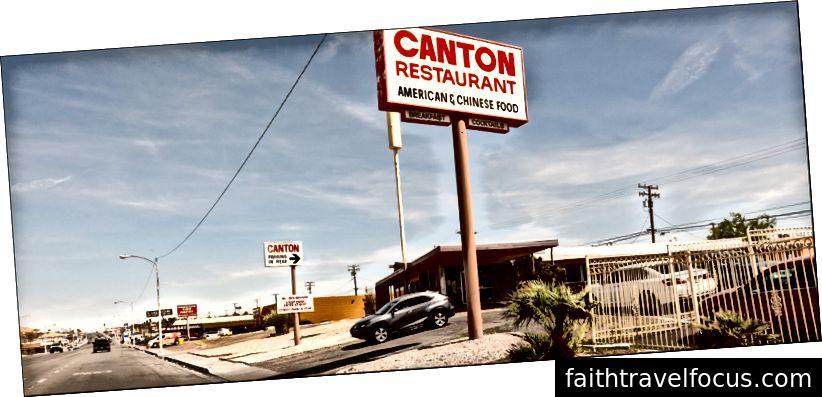 Nhà hàng Canton, Main St, Barstow CA. 4 trận10102012018