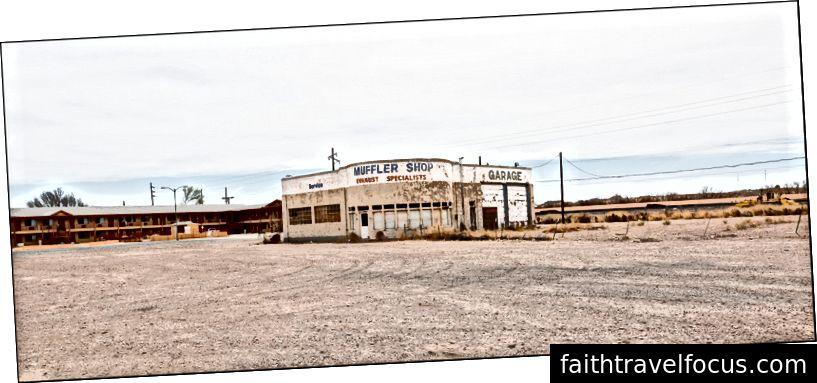 Muffler Shop Bãi đỗ xe, Holbrook, AZ 4