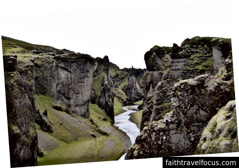 Каньйон Fjaðrárgljúfur
