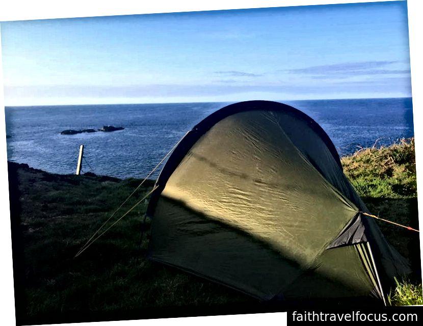Yol boyunca ilk kamp yeri