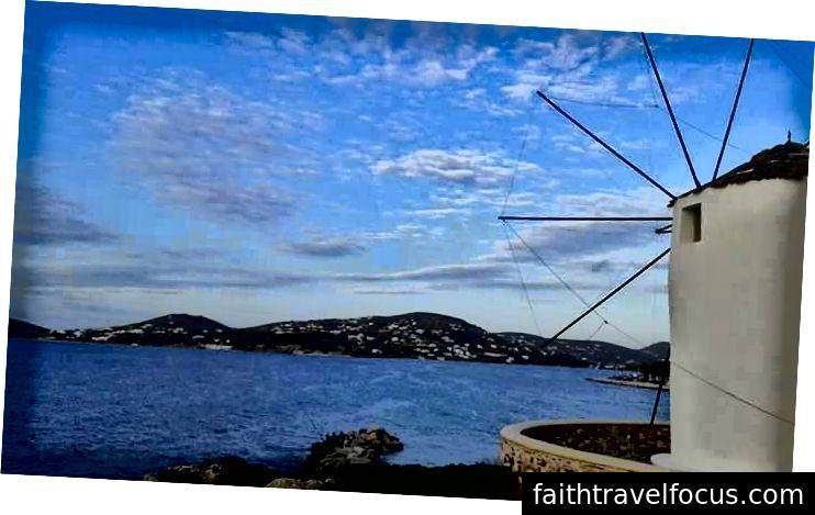 Hala Paros, Yunanistan'da Zamansızlık Rüzgarları