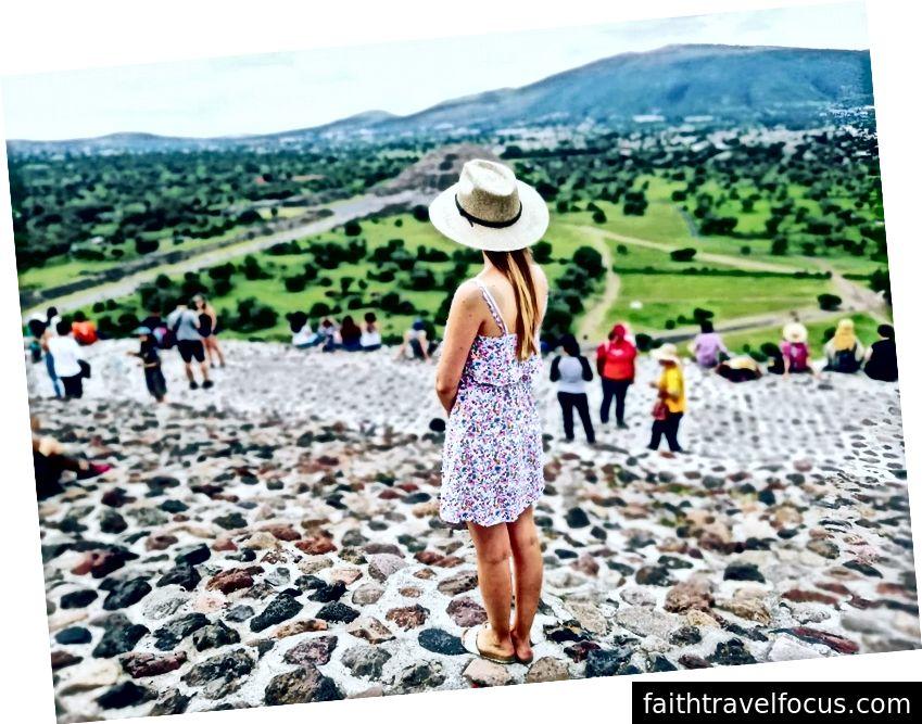 Teotihuacan'da Piramitler