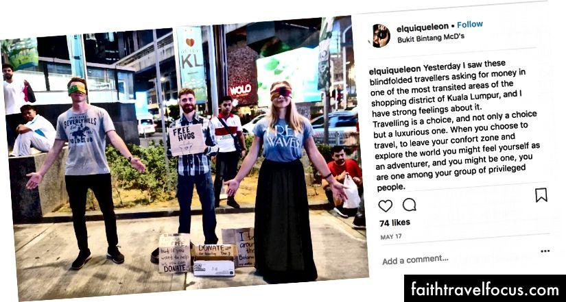 """""""Sarılmalar ücretsizdir, ancak bize yardım etmek istiyorsanız bağış yapabilirsiniz. Seyahat için bağış yapın. Thx """"Fotoğraf kredisi: Elquiqeleon"""