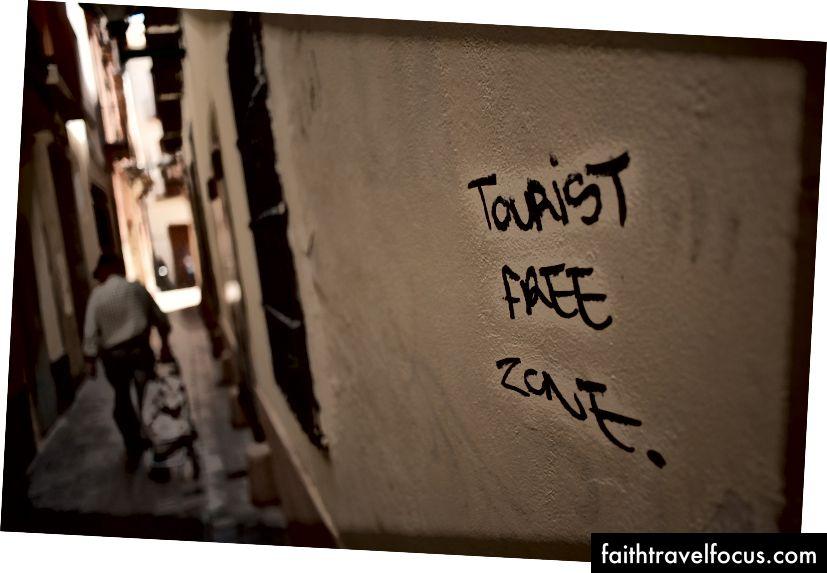 Graffiti trên một bức tường ở Malaga, Tây Ban Nha. Ảnh: Jesus Merida / Hình ảnh SOPA / LightRocket qua Getty Images