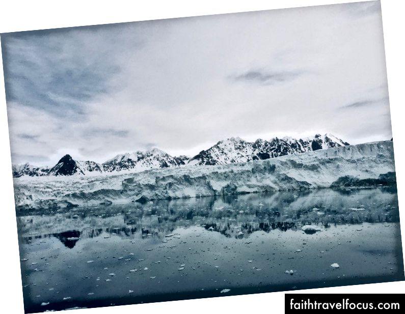 Chúng tôi không được phép đến gần sông băng vì lý do an toàn, nhưng vẫn rất tuyệt. Ảnh tôi chụp :)