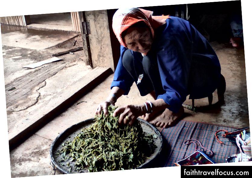 Người phụ nữ làng, Myanmar, Julia Hubbel