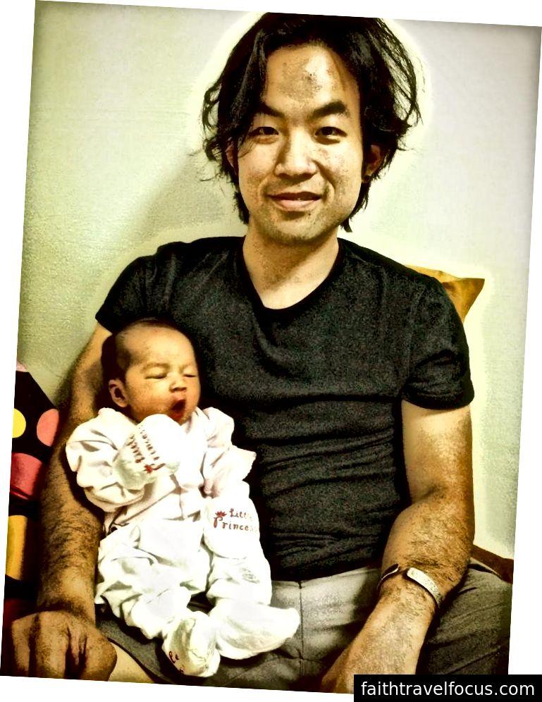 Маленька Чау, близько 4 днів. Зі мною.