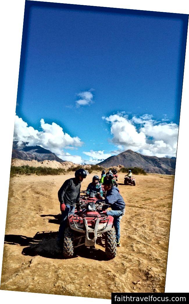 Đi xe ATV ở Cusco, Peru
