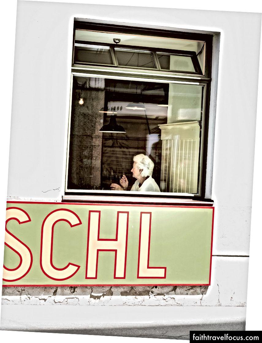 Перерва на обід у мікрорайоні Відня Іннере Штадт, присмак у центрі міста