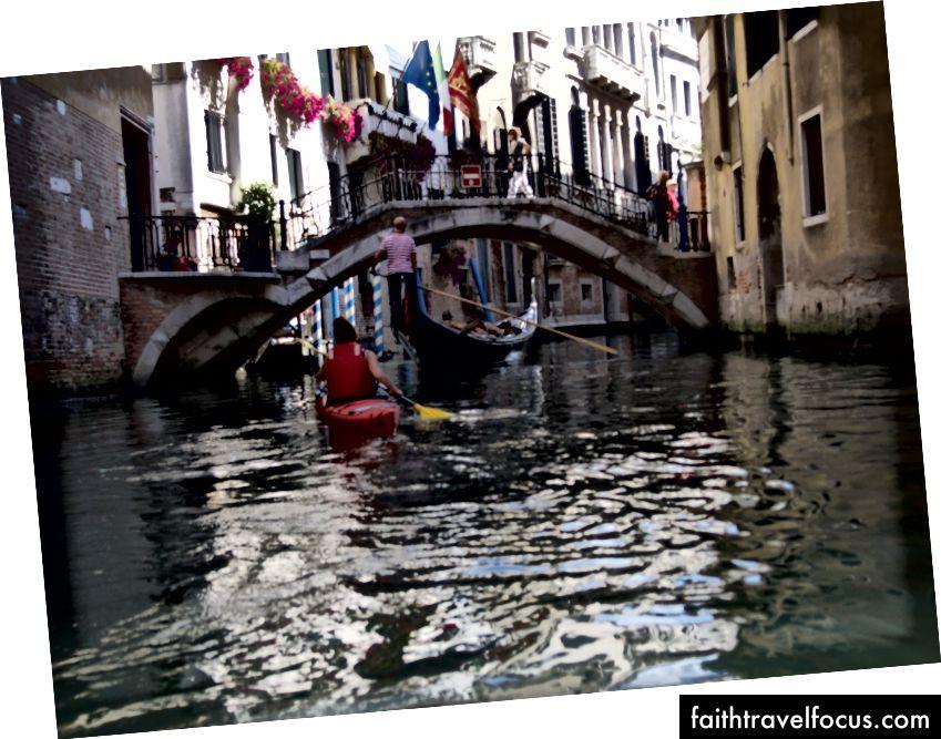 Gondol yolculuğu, Venedik, Adam Craig