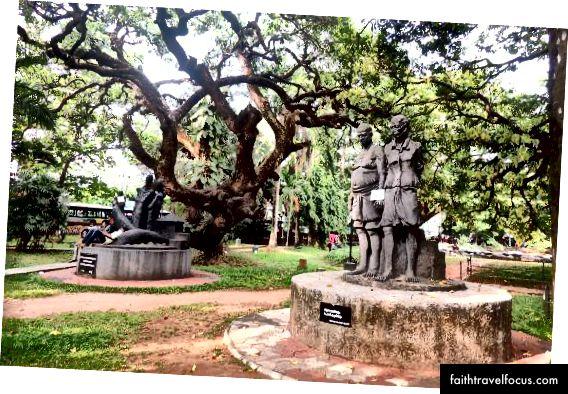 Mananchira Meydanı: karmaşık düğümlere sahip miras ağacı