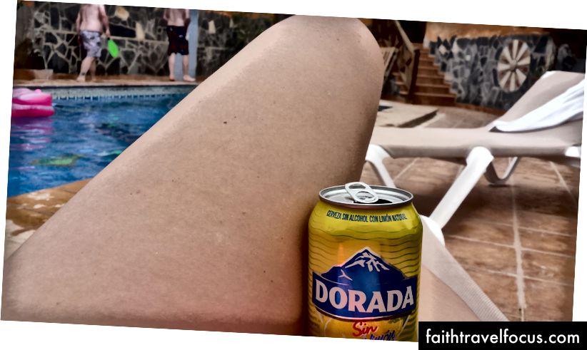 Bazı tür İspanyol alkolleri, elbette havuz başı