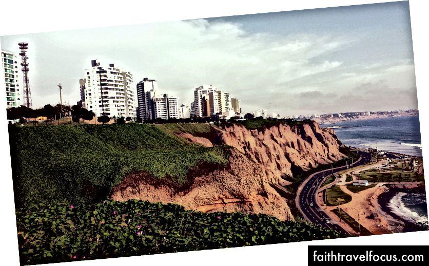 Bờ biển Lima, Peru