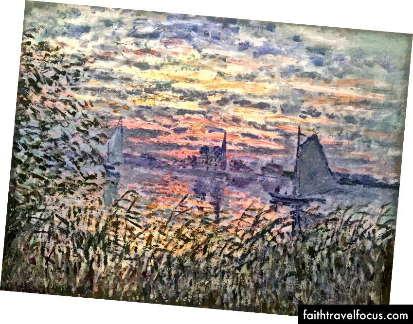 Claude Monet - Deniz Manzarası