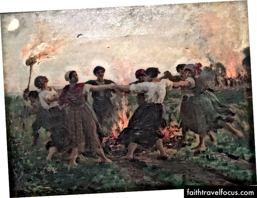Jules Breton - Aziz John'un Ziyafeti