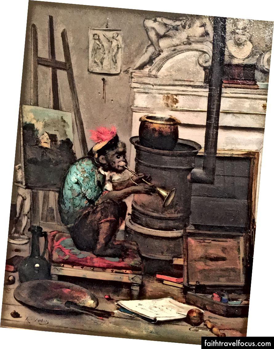 Antoine Vollon-Monkey bir Stüdyoda